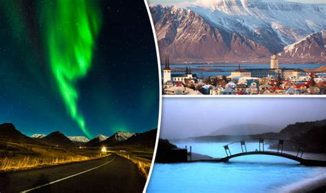 In Iceland See The Northern Lights Blue Lagoon