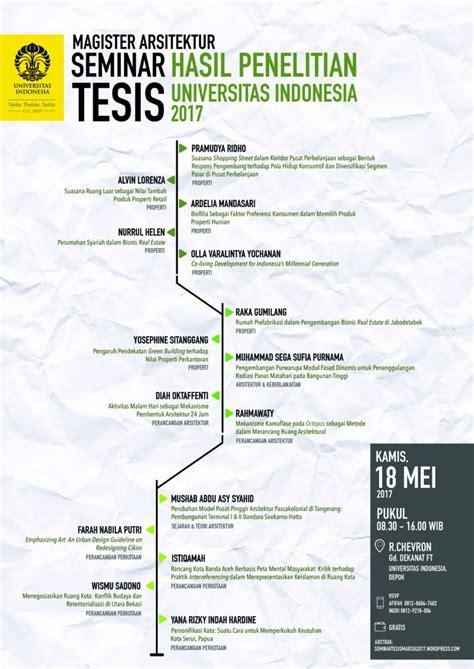 Tesis Magister Akuntansi Universitas Indonesia   seminar terbuka hasil penelitian tesis mahasiswa magister