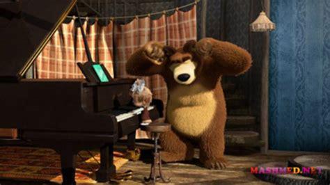 tutorial piano masha and the bear masha and the bear season 1 episode 19