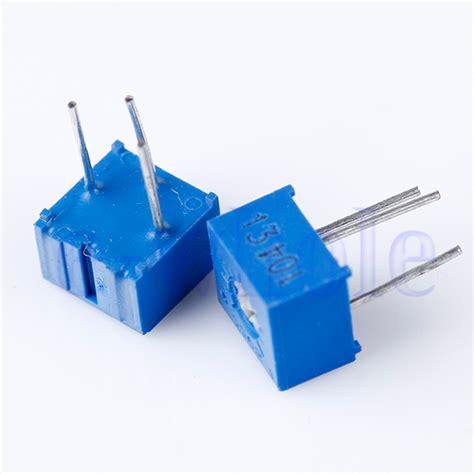 variable resistor 100k ohm 10pcs 100k ohm 3362p 104 3362 p trim pot trimmer potentiometer hm ebay