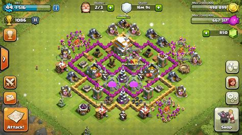 layout coc th6 th6 base design www pixshark com images galleries with