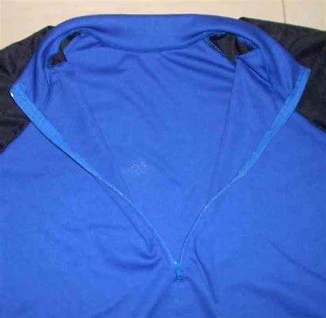 Baju Hitam Biru Heboh kaos sepeda lengan panjang biru hitam l