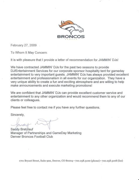 Letter Yelp Bronco S Thank You Letter Yelp
