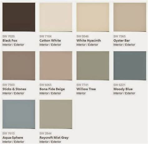 2015 color forecast sherwin williams evolution of style paint colors style and willow tree