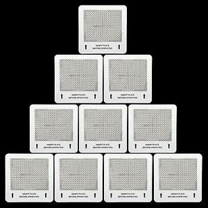 10 ozone plates for alpine ecoquest vollara living air purifiers 6008849000445 ebay