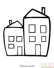 连在一起的小房子简笔画