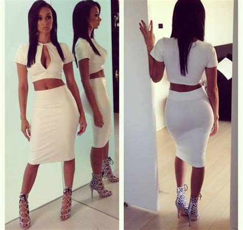Omiru Fashion Hotlist Style Up Your Winter Look In Gorge Gloves A Snazzy Scarf Fashiontribes Fashion by Dress Draya Michele Draya Michele White Dress Two