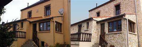 Facade Avant Apres by R 233 Novation Maison Ext 233 Rieur Avant Apr 232 S Renovation Maison