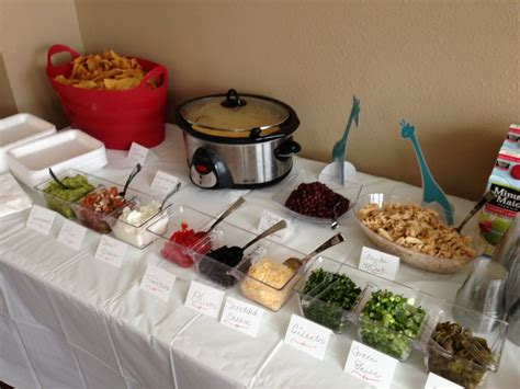 Toppings For Nacho Bar by Nacho Bar How About A Quot Make Your Own Nachos Quot Bar At Your Next Baby Shower Or Event This Simple