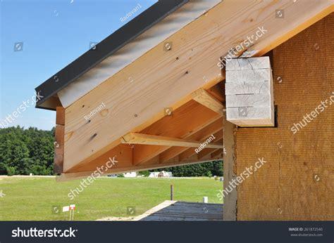 eaves house corner house eaves against summer background stock photo 261872540 shutterstock