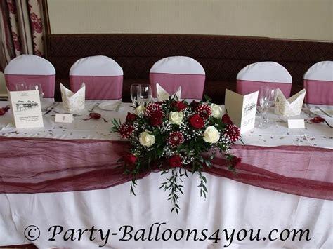 Maroon And Gold Wedding Decor maroon wedding table wedding ideas for brides