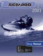 Bombardier Seadoo 2001 Factory Shop Manual 8 95