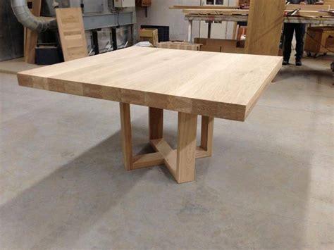 uitschuifbaar tafelblad maken vierkante eettafel met uniek onderstel te boveldt