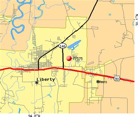 liberty texas map 77575 zip code liberty texas profile homes apartments schools population income