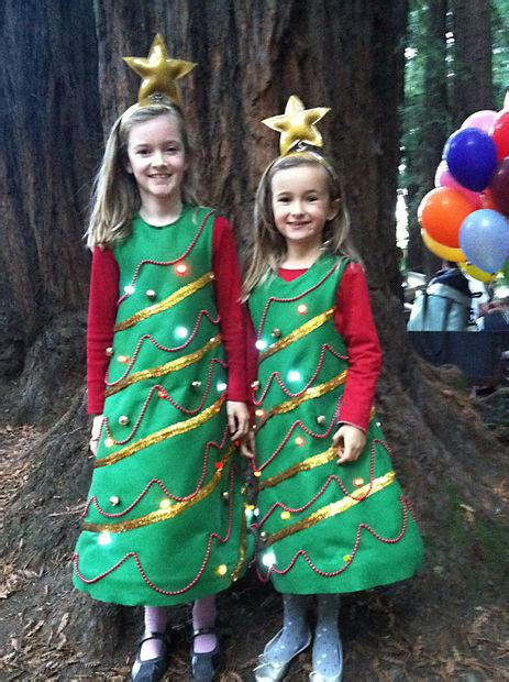dress up ideas for christmas light up tree costume