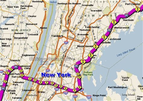 nyc traffic map image gallery new york interstate map