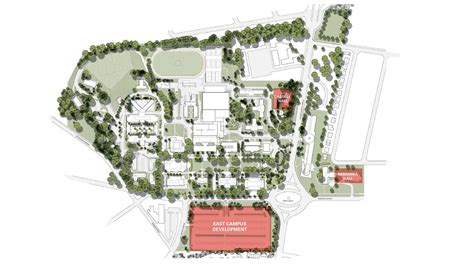 american university east campus projects work