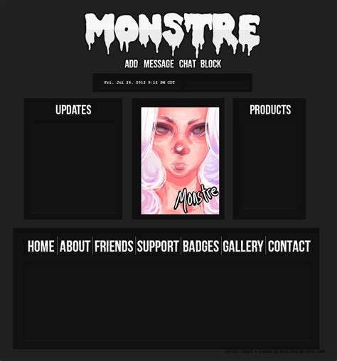 layout homepage imvu monstre imvu homepage layout wip by artificialreasoning