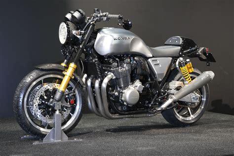 Honda concept CB Type II   Visordown