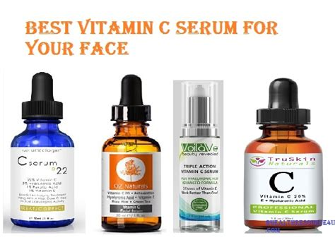 Ser C Serum Vitamin C 5 best vitamin c serum for your