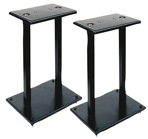 Bookshelf Speakers Stands pyle pro pstnd13 heavy duty steel construction support bookshelf speaker stand pair