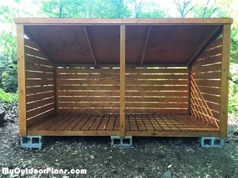 diy  cord wood shed myoutdoorplans  woodworking