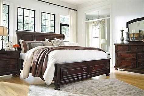 the porter sleigh bed from ashley furniture homestore