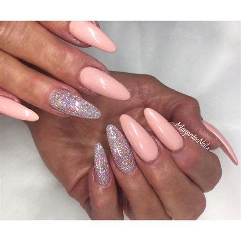 long oval fashion nails beautiful tips trendy nails