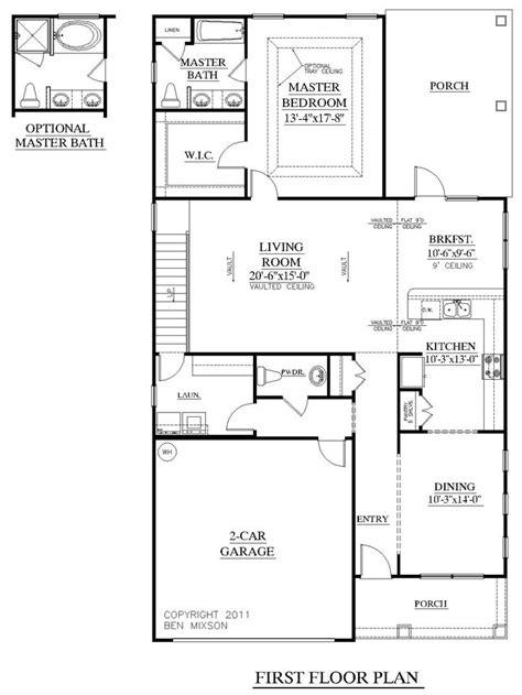 empty nest floor plans house plan 1997 hickory first floor plan empty nest