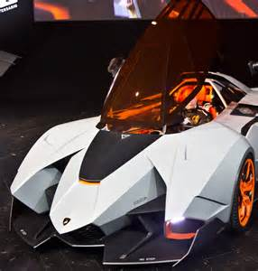 Single Seat Lamborghini Lamborghini Single Seat Concept Car Named