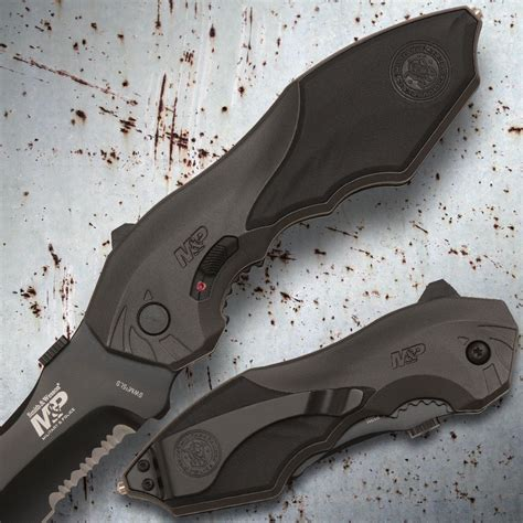 smith wesson m p knives smith wesson m p assisted opening pocket knife budk