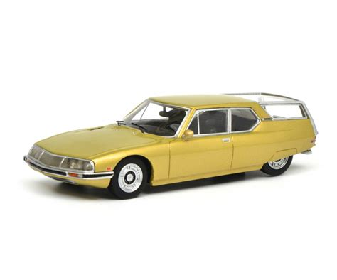 Citroen Car Models by Citro 235 N Sm Quot Shooting Brake Quot Gold Metallic 1 43 Pro R