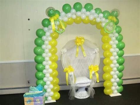 Baby Shower Balloon Arch by Baby Shower Balloon Arch Balloon Arches Katiasdecors