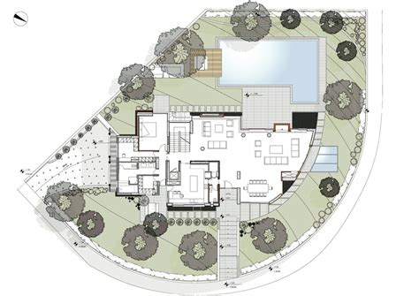 Modern Villa Floor Plan gallery of wide open villa klab architecture 32