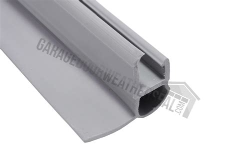 overhead door weatherstripping snap on mini warehouse door bottom weather seal garage