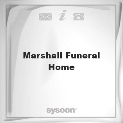 marshall funeral home sysoon funeral directory en