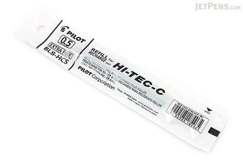 Pilot Pen Refill Hi Tec C 0 4 Mm Blue 1 Pc pilot hi tec c gel pen refill 0 5 mm black jetpens
