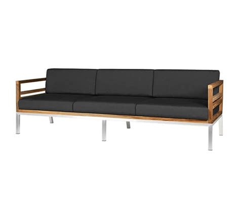 Steel Frame Sofa by Teak Sofa With Stainless Steel Frame Ss 106 Zebano