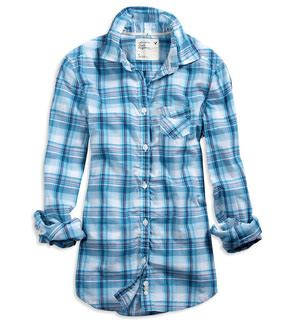 Plaid Shirt By American Eagle american eagle s classic plaid shirt