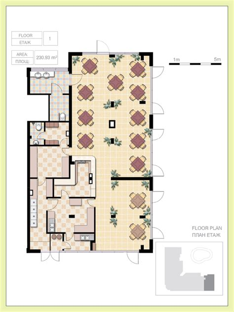 Cafe Floor Plan by Properties And Prices Flores Park Luxury Living In