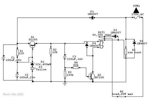 circuit diagram of soldering iron auto heat limiter for soldering iron electronic circuit
