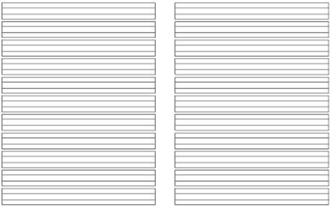 Word Vorlage Heft A5 Schreiblinien F 252 R Klasse 1 Bis Klasse 3