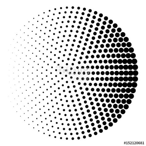halftone dot pattern vector quot halftone circle background halftone dot pattern quot stock