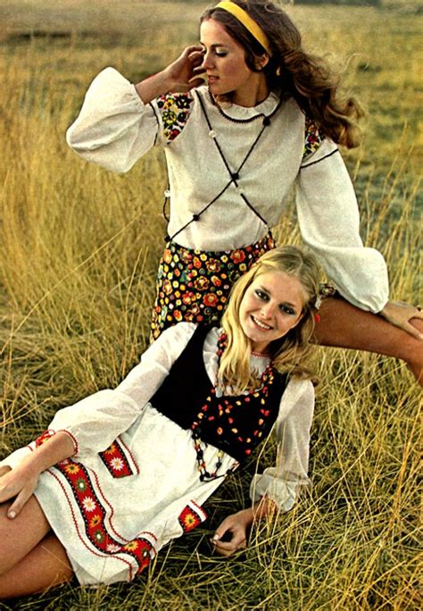 hippies 1960s on pinterest hippie style bohemian clothing and music 1968 69 folk peasant look growing up baby boomer style