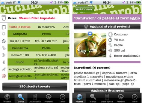 cucina no problem cucina no problem le ricette sul tuo iphone iphone