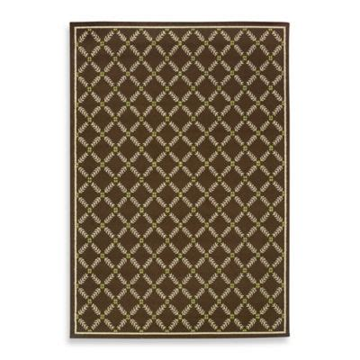 Bed Bath And Beyond Outdoor Rugs Weavers Caspian Brown 8 Foot 1 2 Inch X 13 Foot Indoor Outdoor Rug