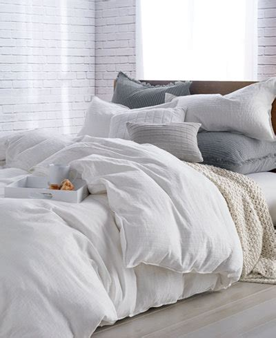 dkny pure comfy cotton fullqueen duvet cover bedding collections bed bath macys
