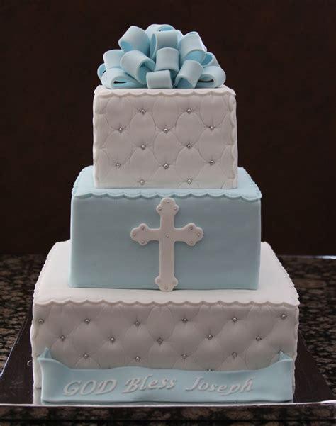 Baptism Cakes boy baptism cake