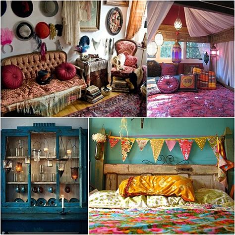 image bohemian chic home decor ideas