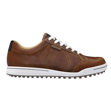 ashworth golf shoes ashworth mens cardiff spikeless golf shoe brown black